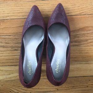 Charles By Charles David burgundy high heels